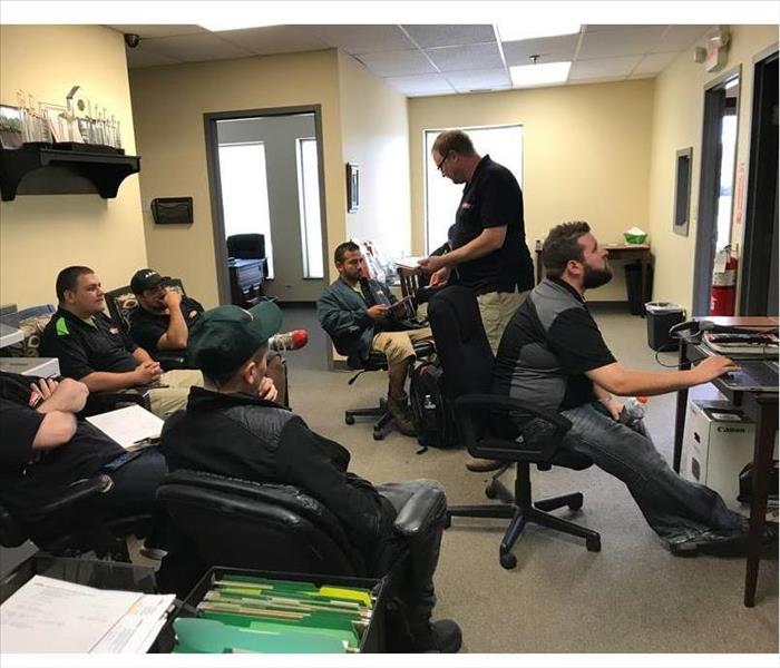 SERVPRO Team Members in a Training Session