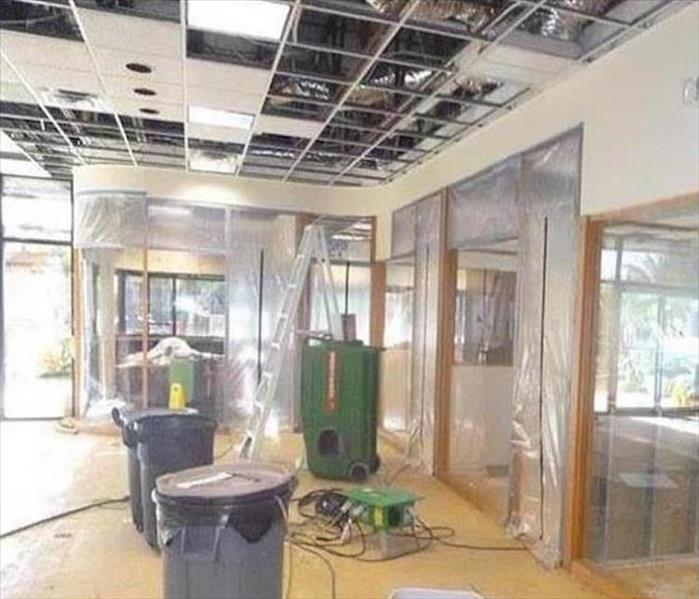 West Chicago Water Damage to a Commercial Building